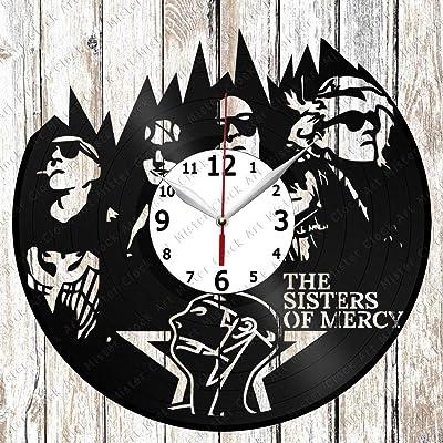 RaduPUSH Stevie Wonder Vinyl Wall Clock Stevie Wonder Music Gift For Any Occasion Stevie Wonder Pop Music Art