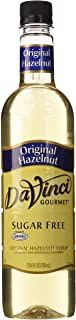 Da Vinci Sugar Free Original Hazelnut Syrup 25.4 oz