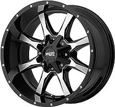 Moto Metal MO970 17x8 6x127/6x135 40mm Black/Machined Wheel Rim 17