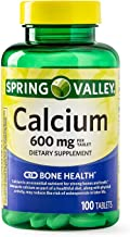 Spring Valley - Calcium 600 mg (Pack of 2) 200 Total Coated Tablets