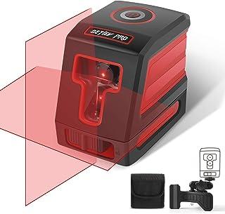 comprar comparacion Nivel Laser Autonivelante, DETLEV PRO 15M con Doble Láser Módulo Línea Vertical y Horizontal Autonivelante Línea rojo
