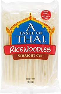 A Taste of Thai Rice Noodles, 16-Ounce Boxes (Pack of 6)
