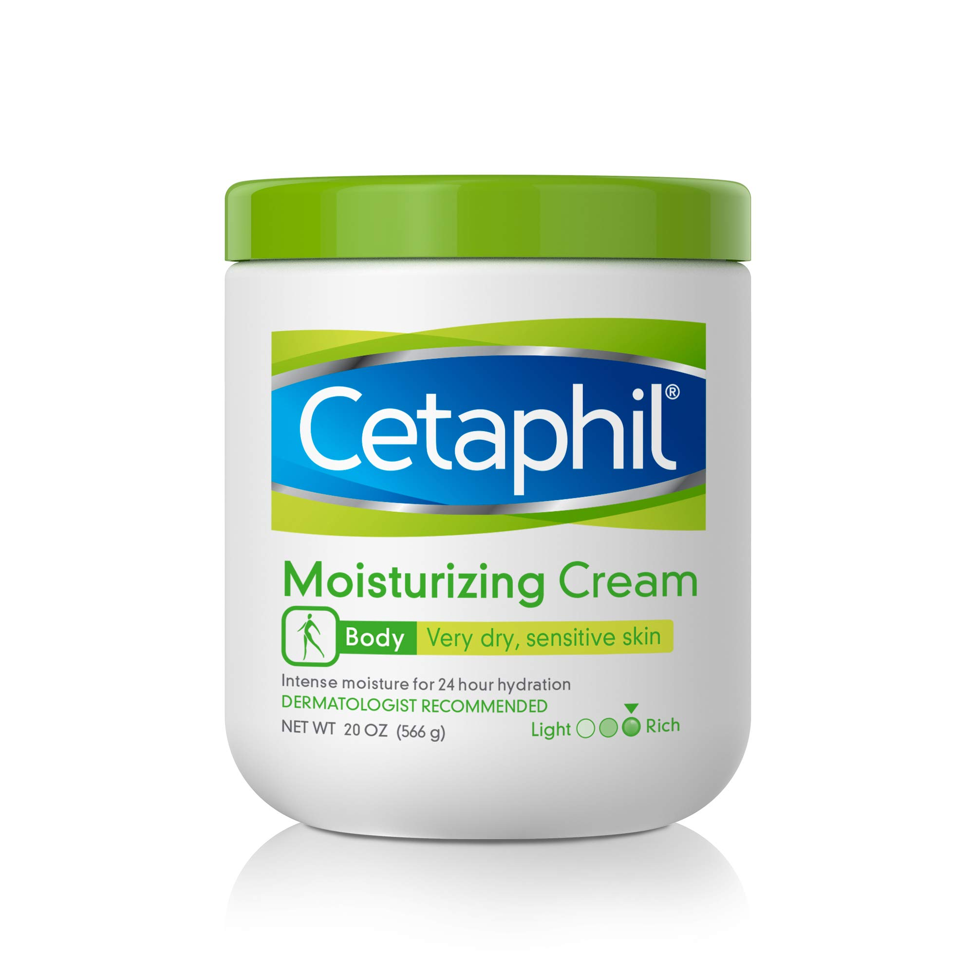 CETAPHIL Moisturizing Cream   20 oz   Moisturizer For Dry To Very Dry, Sensitive Skin   Completely Restores Skin Barrier In 1 Week   Fragrance Free   Non-Greasy   Dermatologist Recommended Brand