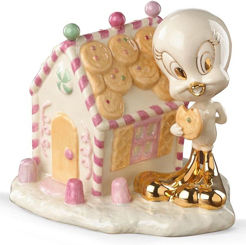 Lenox Tweety's Gingerbread House Figurine Christmas Warner Bros Looney Tunes