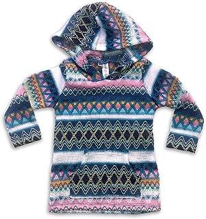 Pink Zig Zag Infant/Toddler Baja Pullover Hoodie