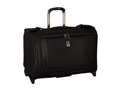 Travelpro 22 Crew Versapack Carry-On Rolling Garment Bag (Jet Black) Luggage