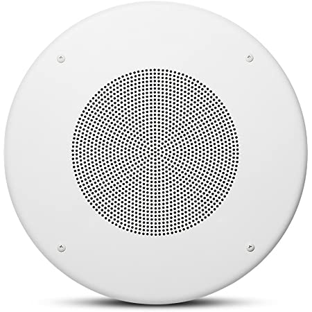 """JBL Professional JBL CSS8018200 mm (8 in) Commercial Series Ceiling Speakers, White, 8"""" (CSS8018)"""