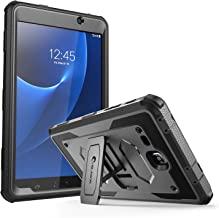 i-Blason Case Designed for Galaxy Tab A 7.0, [Heavy Duty] Armorbox [Dual Layer] Hybrid Full-Body Protective Kickstand Cover with Built-in Screen Protector for Samsung Galaxy Tab A 7 2016 (Black)