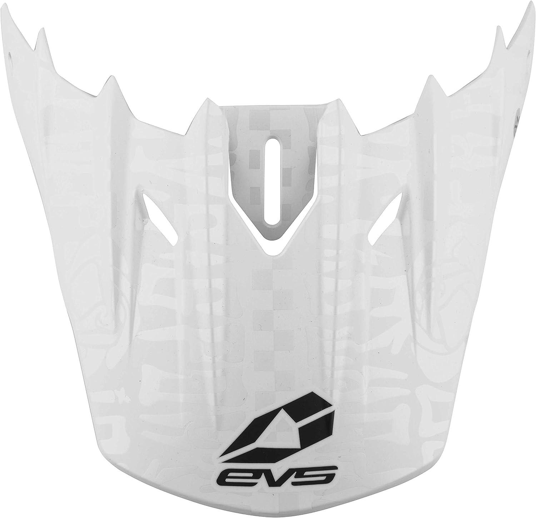EVS Sports Max 44% OFF Men's Helmet-2018 Excellence T5 Evilution On Matte Visor White