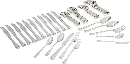 Lenox Portola Stainless Steel 65-piece Flatware Set, Silver - 815486