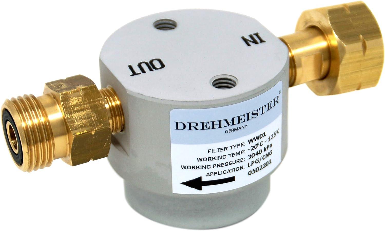 Filtro para Cilindros de Gas 21,8 LH x G12