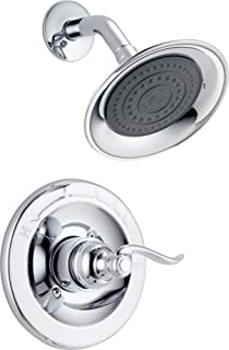 Delta Faucet Windemere Single-Function Shower Trim Kit with Single-Spray Shower Head, Chrome BT14296 (Valve Not Included)