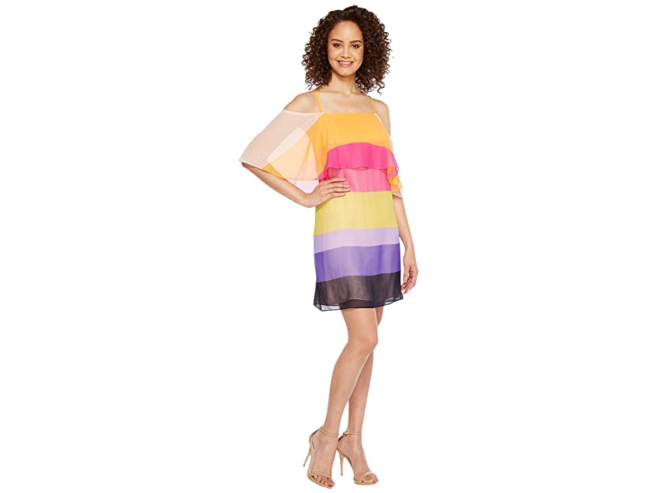 Trina Turk Butterfly Dress (Multi) Women
