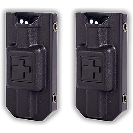 Evanno Tourniquet Holder, TQ Case for CAT Combat Application Tourniquets Gen 7 | Tourniquet Holster TQ Holder for Duty BeltFits Molle Equipment, Police Gear (Tourniquet Not Included)