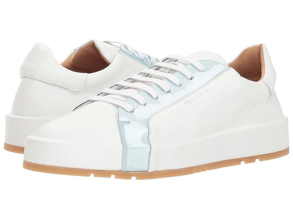 Jil Sander JS31065 (White/Light Blue) Women