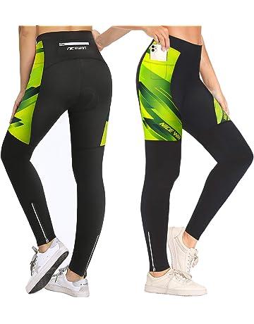 XGC Uomo Lunghi Pantaloni da Ciclismo Pantaloni/-/Pantaloni da Ciclismo Bicicletta Sport Shorts per Uomini Elastico Traspirante 4d Spugna Sedile Imbottito con Una Alta densit/à