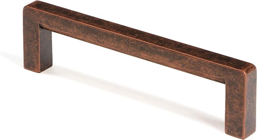 Gedotec Poignee De Meuble Vintage Sido Design Cuivre Vieilli Poignee De Porte Et Tiroir Pour Chambre Cuisine Salon Bureau Vis M4 Incluses Entraxe 192 Mm 1 Piece Amazon Fr Bricolage