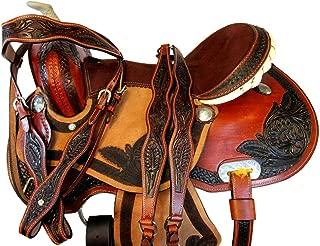 Orlov Hill Leather Co Barrel Racing DEEP SEAT Pleasure Trail Horse Western Saddle 15 16 17 Show TACK Set