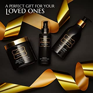 Moroccan Argan Oil Shampoo and Conditioner SLS Sulfate Free and serum Gift Set -