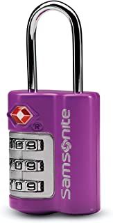 Samsonite Travel Sentry 3-dial Combination Lock, Ultraviolet, One Size