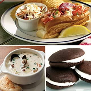 Maine Lobster Rolls, Clam Chowder, and Whoopies for 6