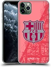 Official FC Barcelona Third 2018/19 Crest Kit Soft Gel Case Compatible for iPhone 11 Pro Max