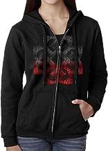 Breaking Benjamin Rock Band Logo Women's Solid Pullover Zip Hoodie