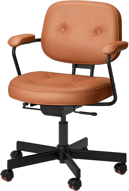 IKEA Alefjäll Swivel Chair Brown Golden 売れ筋ランキング 送料無料 新品 Grann