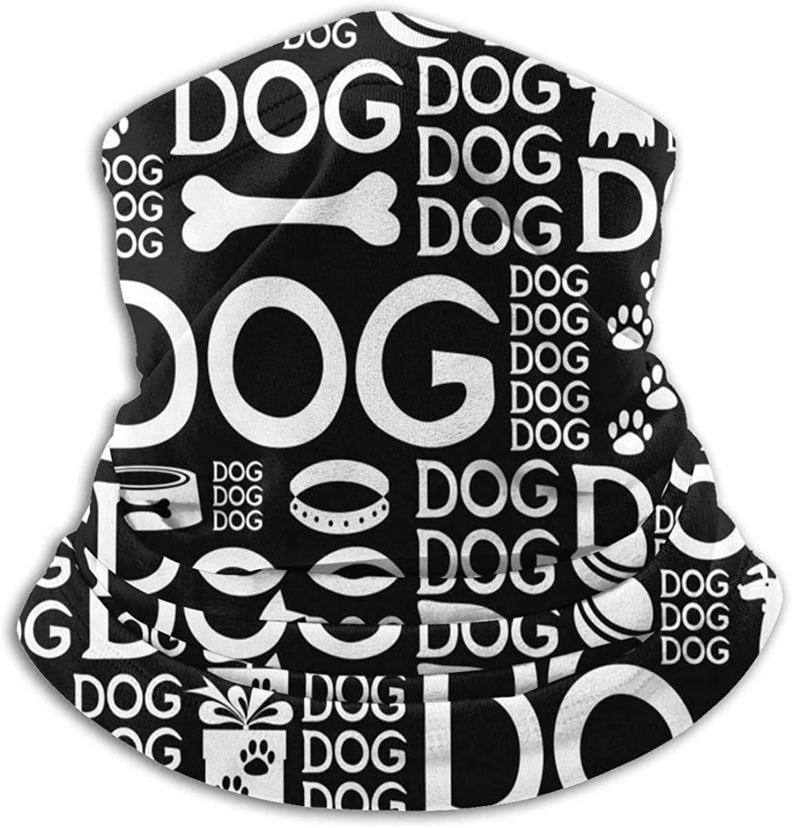 Lastbest Dogs Neck Warmer Multifunction Scarf Hat Neck Gaiter Neck Cap Bala Windproof Neck Heating Wrap Outdoor Sports One Size
