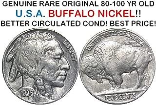 1936 buffalo head nickel