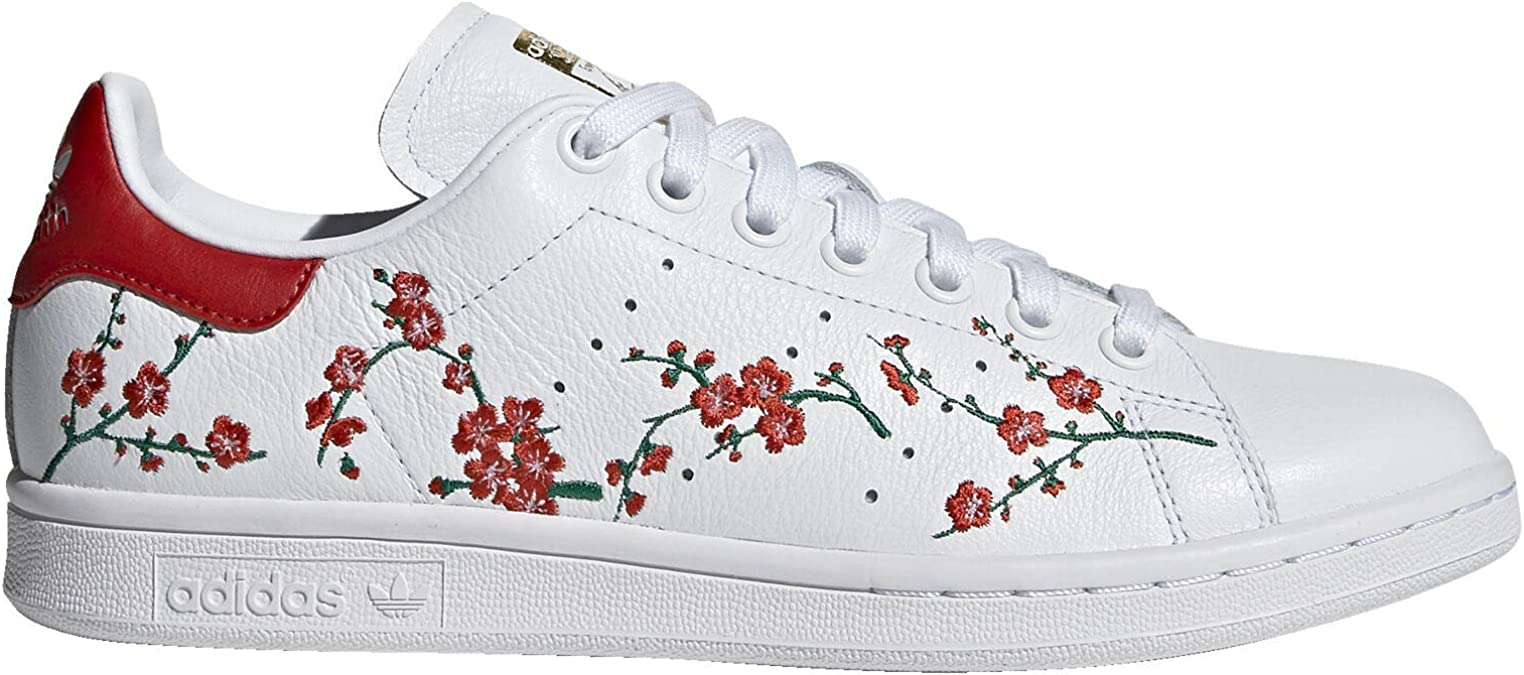 Adidas Stan Smith Chaussures pour femme Blanc Taille 5 : Amazon.fr ...