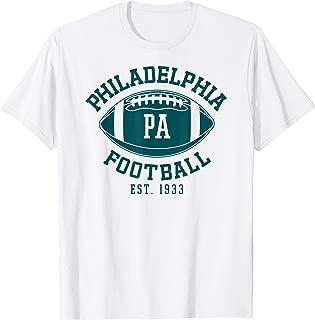 Philadelphia Football Vintage Philly Retro Eagle Gift T-Shirt