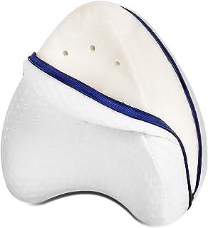 Almohada ortopédica para dormir de lado, almohada cervical ergonómica de espuma viscoelástica para dormir de lado