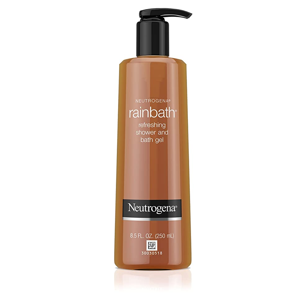 調整可能強度恨みNeutrogena Rainbath Refreshing Shower And Bath Gel (Body Wash), 250ml