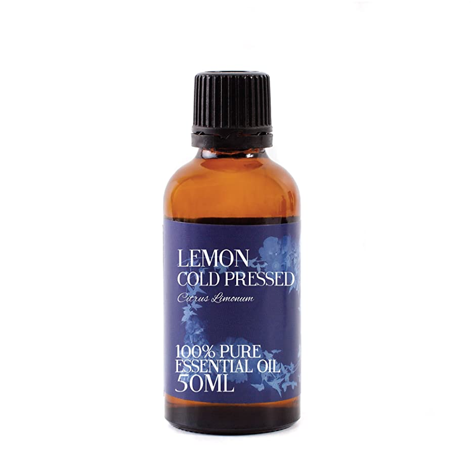非アクティブ楽しい痛みMystic Moments | Lemon Cold Pressed Essential Oil - 50ml - 100% Pure