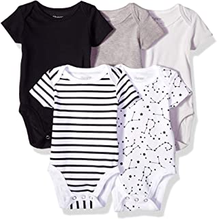 Ultimate Baby Flexy 5 Pack Short Sleeve Bodysuits