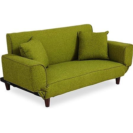 LOWYA ロウヤ ソファ ソファベッド リビングソファ 二人掛け ソファセット sofa グリーン
