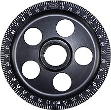 Empi 33-1055-0 Aluminum Vw Degree Pulley, Black Anodized, Stock Size