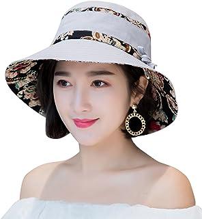 c02ddfc2213 HINDAWI Sun Hats for Women Packable Sun Hat Wide Brim UV Protection Beach  Sun Cap