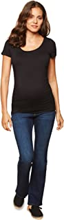 Women's Maternity Indigo Blue Stretch Secret Fit Belly...