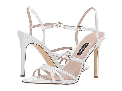 Nine West Gilficco Strappy Sandals (White) Women