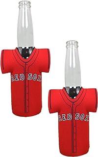 Boston Red Sox 2-Pack CAN Retro Throwback Koozie Neoprene Holder Cooler Coolie Baseball