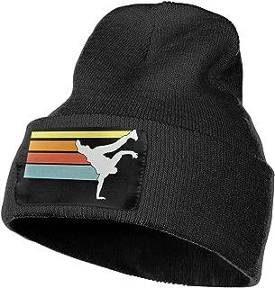 Daily Woolen Cap for Men Women, 100% Acrylic Acid Vintage Hip Hop Breakdance Stocking Cap