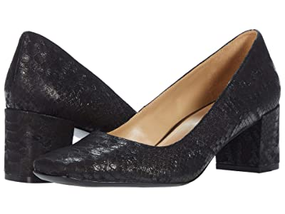 Naturalizer Karina (Black Tonal Snake) Women