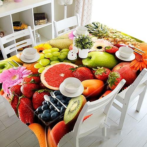 Con 100% de calidad y servicio de% 100. ZHUOBU Mesa de Comedor insípida a Prueba de de de Polvo del Vector de la Mesa de Comedor de la Fruta 3D a Prueba de Polvo  Mejor precio