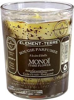 8 Heures Parfum Bois Cir/é ELEMENT-TERRE Bougie Parfum/ée 35 Grammes