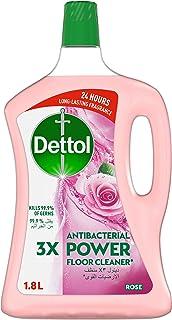 ديتول - منظف الأرضيات روز المضاد للبكتيريا 1.8 لتر