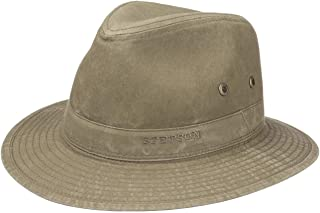 Stetson Organic Cotton Traveller Hat Cotton Hat Fabric Hat Traveller Hat for Men with Lining Summer
