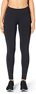 Amazon Brand - Core 10 Women's (XS-3X) 'Build Your Own' Onstride Run Full-Length Legging with Pockets, Inseams Available