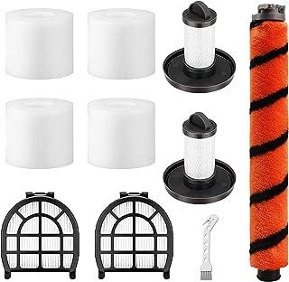 4 Pack Foam & Felt Filters, 1 Soft Main Brush, 2 Pre-Motor Filter & 2 Post-Motor Hepa Filter for Shark LZ600, LZ601, LZ60...